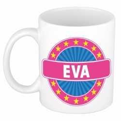 Eva naam koffie mok / beker 300 ml