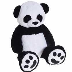 Extra grote pluche knuffel panda knuffebeest van 100