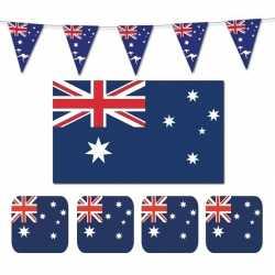 Feestartikelen australie versiering pakket