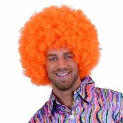 Feloranje clowns pruik