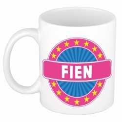 Fien naam koffie mok / beker 300 ml