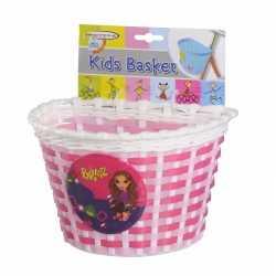 Fietsmandje roze 20 kinderen
