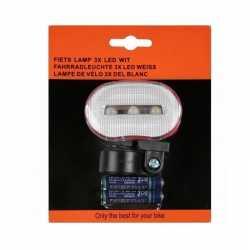 Fietsverlichting led voorlicht incl batterijen