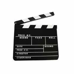 Film regisseur clipboard 30