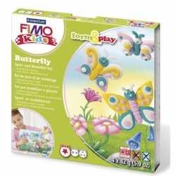 Fimo kids klei hobby pakket vlinder