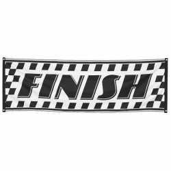 Finish banner 74 bij 220