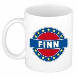 Finn naam koffie mok / beker 300 ml