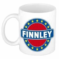 Finnley naam koffie mok / beker 300 ml
