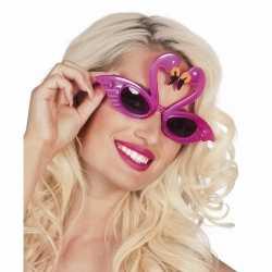 Flamingo feest zonnebril volwassenen