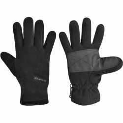 Fleece handschoenen starling zwart kinderen