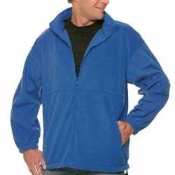 Fleece outdoor jack heren
