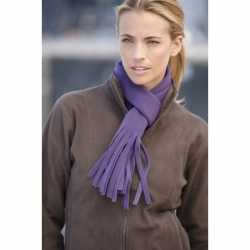 Fleece sjaal franjes 150