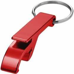 Flesopener sleutelhanger rood