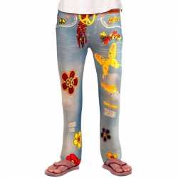 Flower Power legging meiden