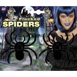 Fluwelen spinnen 2 stuks