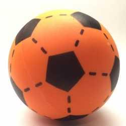Foam soft voetbal oranje 20
