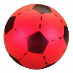 Foam soft voetbal rood 20