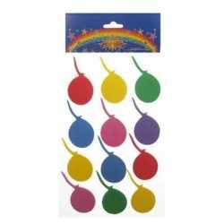 Foam stickers 24 ballonnen