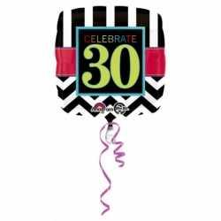 Folie ballon 30 jaar 43