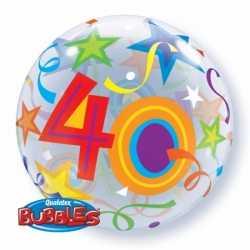 Folie ballon 40 jaar 56