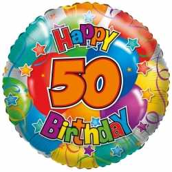 Folie ballon 50 jaar 35