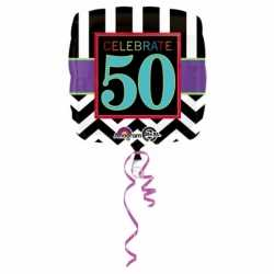 Folie ballon 50 jaar 43