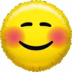 Folie ballon bloos smiley 35