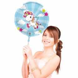 Folie ballon eenhoorn