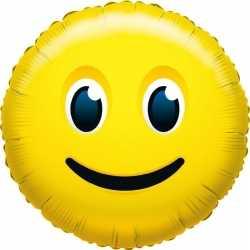 Folie ballon glimlach smiley 35