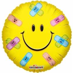 Folie ballon smiley pleisters 35