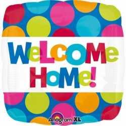 Folie ballon welkom thuis 43
