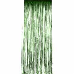 Folie deurgordijn groen 244 bij 91