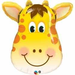 Folie dieren ballon giraffe 81