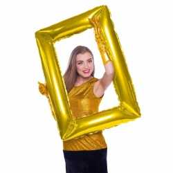 Folie foto frame rechthoek goud 85 bij 60