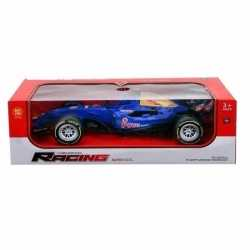 Formule 1 race auto licht geluid blauw 32