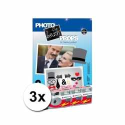 Foto props set bruiloft incl 3x wegwerp camera