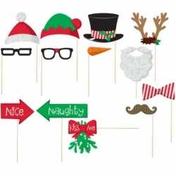 Foto props set kerstmis