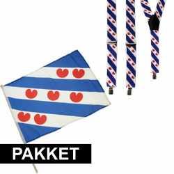 Friesland setje bretels zwaaivlag