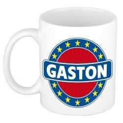 Gaston naam koffie mok / beker 300 ml