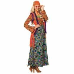 Gekleurd hippie pak vrouwen