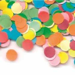Gekleurde confetti 100 gram