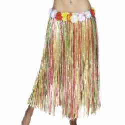 Gekleurde hawaii rok 80