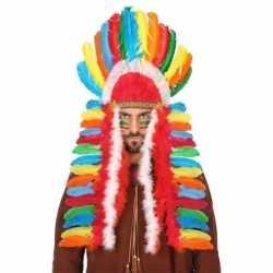 Gekleurde indianen tooi heren
