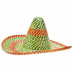 Gekleurde sombrero 50