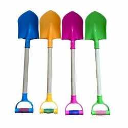 Gekleurde speelgoed schep 55