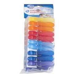 Gekleurde wasknijpers 20 stuks