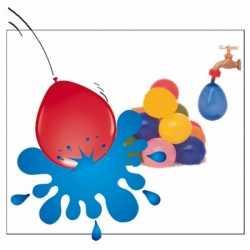 Gekleurde water ballonnen