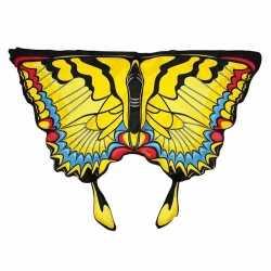 Gele zwaluwstaartvlinder vleugels kids