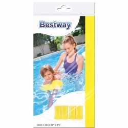 Gele zwembandjes kinderen 20