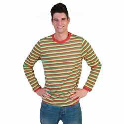 Gestreept heren shirt Dorus